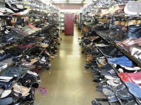 shoe aisle