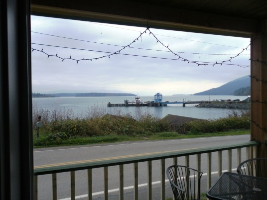 View from Cafe Window on Lummi