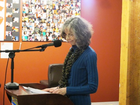 Poet Betty Scott