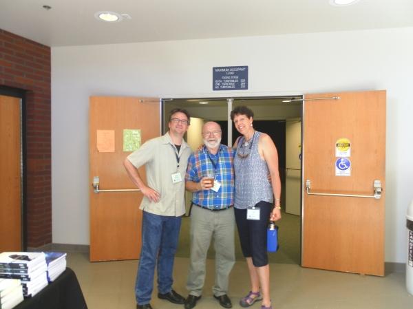 Paul Hanson, Chuck Robinson, Nan Macy