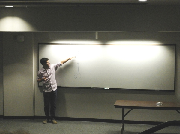 Steven Galloway teaching